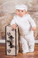 Boy's White 4 - piece Smart Outfit
